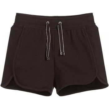 Vêtements Fille Shorts / Bermudas Princesse Ilou Short basic Noir
