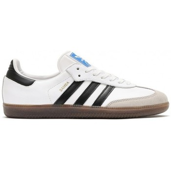 Chaussures Homme Baskets mode adidas Originals Chaussures  Samba Og - White Core / Black Gum blanc