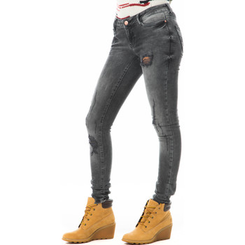 Vêtements Femme Jeans slim Noisy May Jeans Eve  Noir Delave Noir