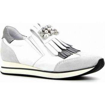 Chaussures Femme Baskets basses Rosemetal sneakers argent blanc