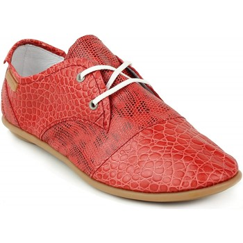 Chaussures Femme Baskets basses Pataugas Femme pataugas swing rouge rouge