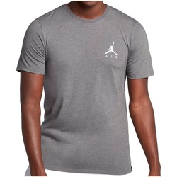 Vêtements Homme T-shirts manches courtes Air Jordan - T-Shirt Jumpman Air Embroidered - AH5296 Gris