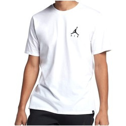 Vêtements Homme T-shirts manches courtes Air Jordan - T-Shirt Jumpman Air Embroidered - AH5296 blanc