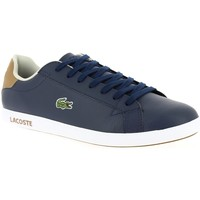 Chaussures Homme Baskets basses Lacoste GRADUATE marine
