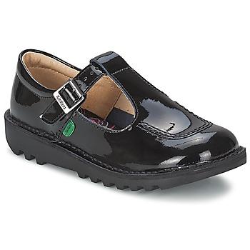 Chaussures Enfant Richelieu Kickers KICK T BLACK PATENT