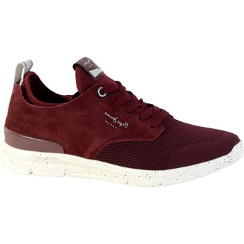 Chaussures Homme Baskets basses Pepe jeans Basket  Jayden Tech Rouge