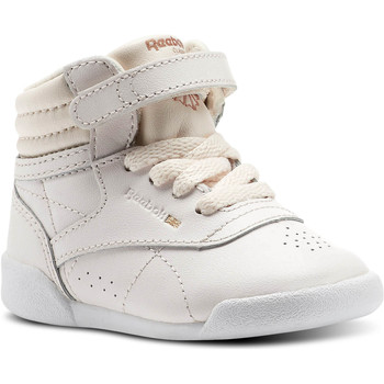Chaussures Enfant Baskets montantes Reebok Classic Freestyle HI Muted Blanc