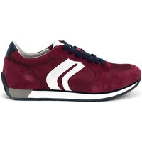 Chaussures Homme Baskets basses Geox Vinto Rouge