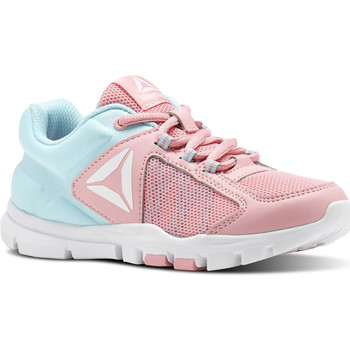 Chaussures Fille Fitness / Training Reebok Sport Yourflex Train 9.0 - Pre-School Blanc