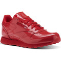 Chaussures Fille Baskets basses Reebok Classic Classic Leather Patent Rouge