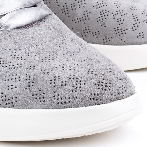 Theragon  Geox  baskets basses  femme  gris