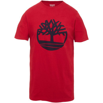 Vêtements Homme T-shirts manches courtes Timberland Tfo Ss Tree Logo T-Shirt Mc Homme
