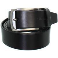 Accessoires textile Ceintures Chabrand Ceinture  en cuir ref_cha42554-noir Noir