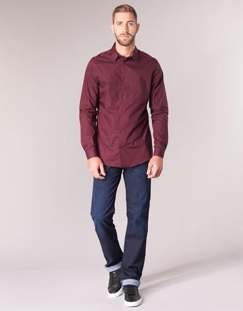 Vêtements Homme Jeans droit Emporio Armani BOUWI Bleu Medium