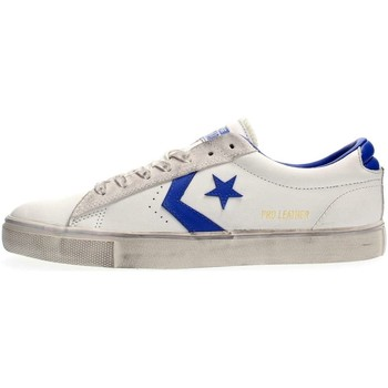 Chaussures Homme Baskets basses Converse 160928C PRO LEATHER OX SNEAKERS Homme White bluette White bluette