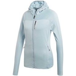 Vêtements Femme Vestes de survêtement adidas Originals Veste  Tracerocker Hooded Fl Blue / Ash Grey Cyan