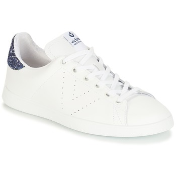 Chaussures Femme Baskets basses Victoria DEPORTIVO BASKET PIEL Blanc / Bleu