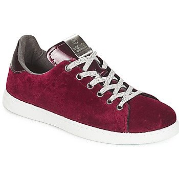 Chaussures Femme Baskets basses Victoria DEPORTIVO TERCIOPELO Bordeaux
