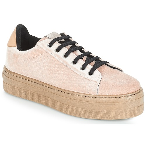 Victoria DEPORTIVO TERCIOPELO/CARAM Beige  - Chaussures Baskets basses Femme