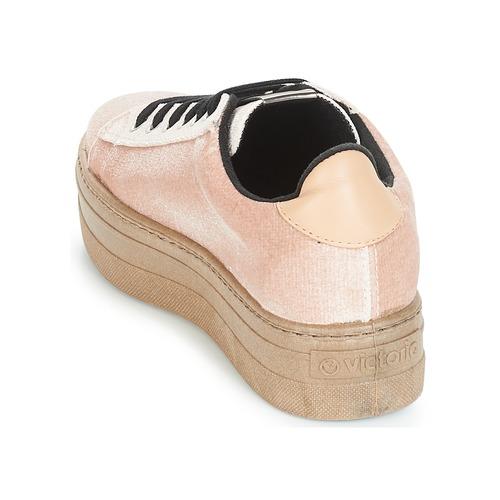 Victoria Terciopelo Femme Baskets Chaussures Deportivo Beige Basses caram dxCreWoEQB