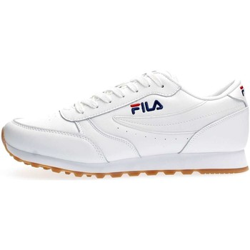 Chaussures Homme Baskets basses Fila 1010264 ORBIT JOGGER LOW SNEAKERS Homme WHITE WHITE