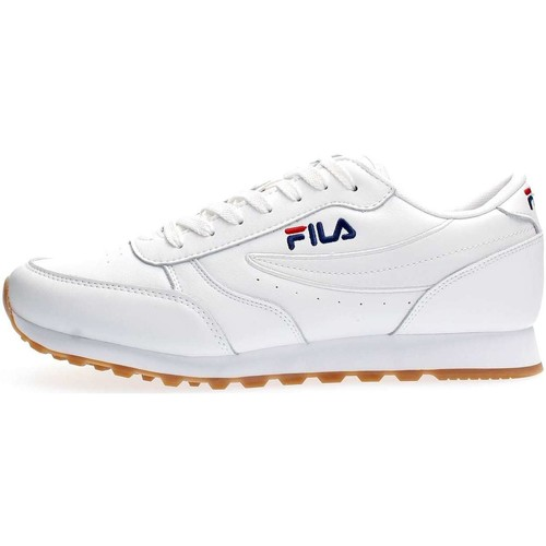 Fila 1010264 ORBIT JOGGER LOW SNEAKERS Homme WHITE WHITE - Chaussures Baskets basses Homme