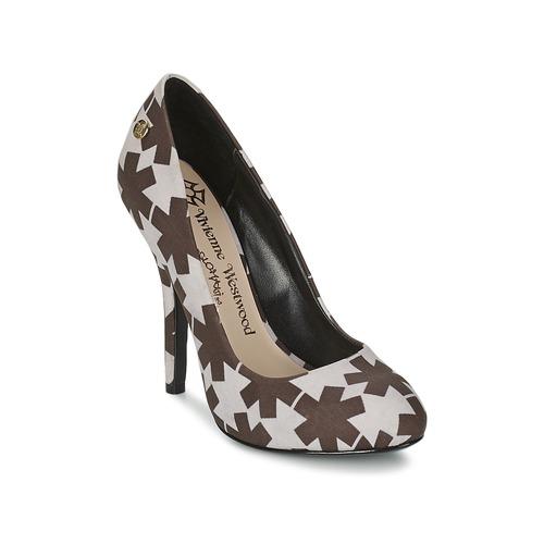 Chaussures Femme Escarpins Vivienne Westwood MAGGIE II Noir / Blanc