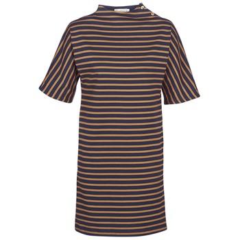 Vêtements Femme Robes courtes Petit Bateau TUESDAY Marine / Jaune