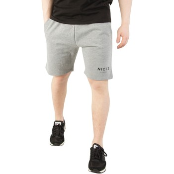 Vêtements Homme Shorts / Bermudas Nicce London Homme Shorts à logo original, Gris gris