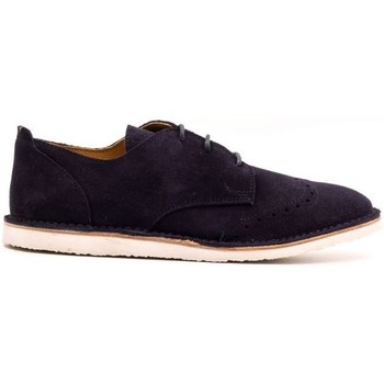 Chaussures Enfant Derbies Boni Classic Shoes Derbies en cuir à lacets - HUGO Daim Bleu Marine