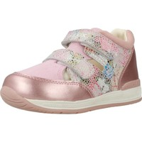 Chaussures Fille Baskets basses Geox B RISHON GIRL Rose