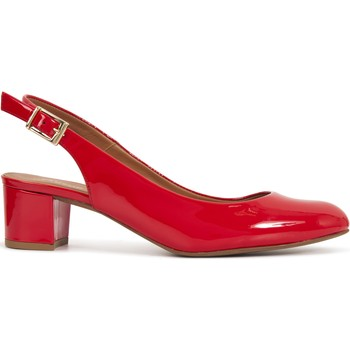 Chaussures Femme Escarpins Heyraud sling-back GENEVIEVE Rouge
