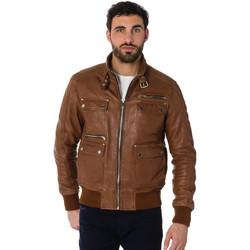 Vêtements Homme Vestes en cuir / synthétiques Serge Pariente JOSH COGNAC Cognac