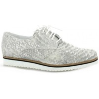 Chaussures Femme Derbies Elizabeth Stuart Derby cuir python Blanc