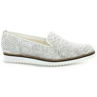 Chaussures Femme Mocassins Elizabeth Stuart Mocassins cuir python Blanc