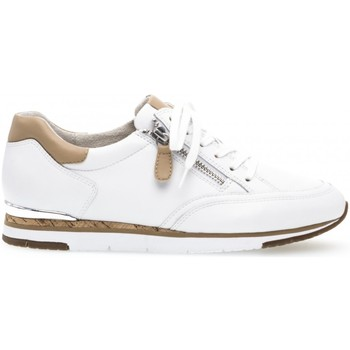 Chaussures Femme Baskets mode Gabor Baskets blanches Blanc