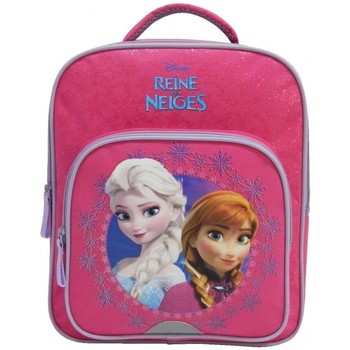 Sacs Fille Sacs à dos Disney SAC A DOS CP ROSE-LA REINE DES NEIGES / FROZEN ROSE