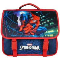 Sacs Garçon Cartables Disney CARTABLE 38CM BLEU MARINE-SPIDERMAN MARVEL BLEU MARINE
