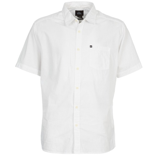 Chemises Quiksilver EVERYDAY SOLID SS Blanc 350x350