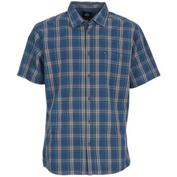 Chemises Quiksilver EVERYDAY CHECK SS Bleu 350x350