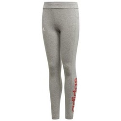 Vêtements Fille Leggings adidas Originals Legging enfant fille Essentials Linear Gris anthracite