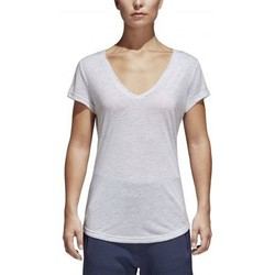 Vêtements Femme T-shirts manches courtes adidas Originals T-shirt de sport ID Winners blanc