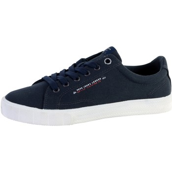 Chaussures Homme Baskets basses Pepe jeans Basket  New North Basic Bleu