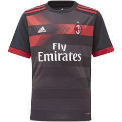 Vêtements Enfant T-shirts manches longues adidas Performance Maillot Third Milan AC Replica Noir / Rouge