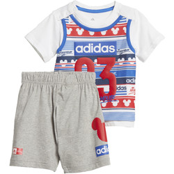 Vêtements Fille Ensembles de survêtement adidas Performance Ensemble Disney Mickey Mouse Summer Blanc / Rouge