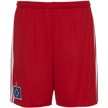 Vêtements Homme Shorts / Bermudas adidas Performance Short Hambourg SV Domicile Replica Rouge / Blanc