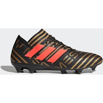 Chaussures Homme Football adidas Performance Chaussure Nemeziz Messi 17.1 Terrain souple Noir / Orange