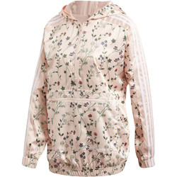 Vêtements Femme Coupes vent adidas Originals Coupe-vent Hooded Rose