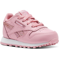 Chaussures Enfant Baskets basses Reebok Classic Classic Leather Spring Rose / Blanc