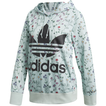 Vêtements Femme Vestes de survêtement adidas Originals Sweat-shirt à capuche green